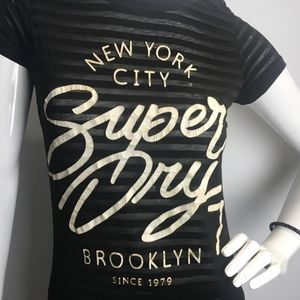 Super Dry NYC Burnout Entry Tee